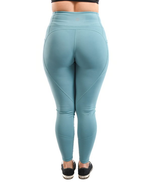 Effortless Heart Booty Leggings- Marlin