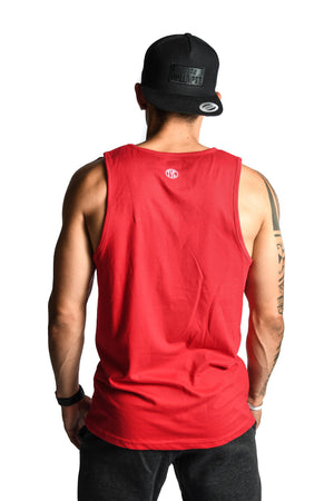 Load image into Gallery viewer, Men's TYC Logo Tank- Red