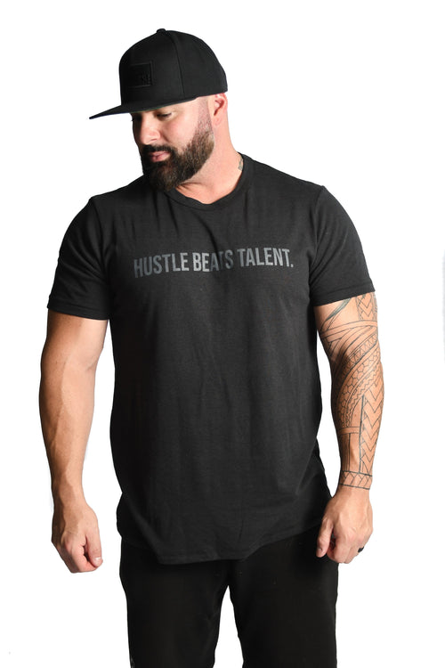 Hustle Beats Talent T-shirt