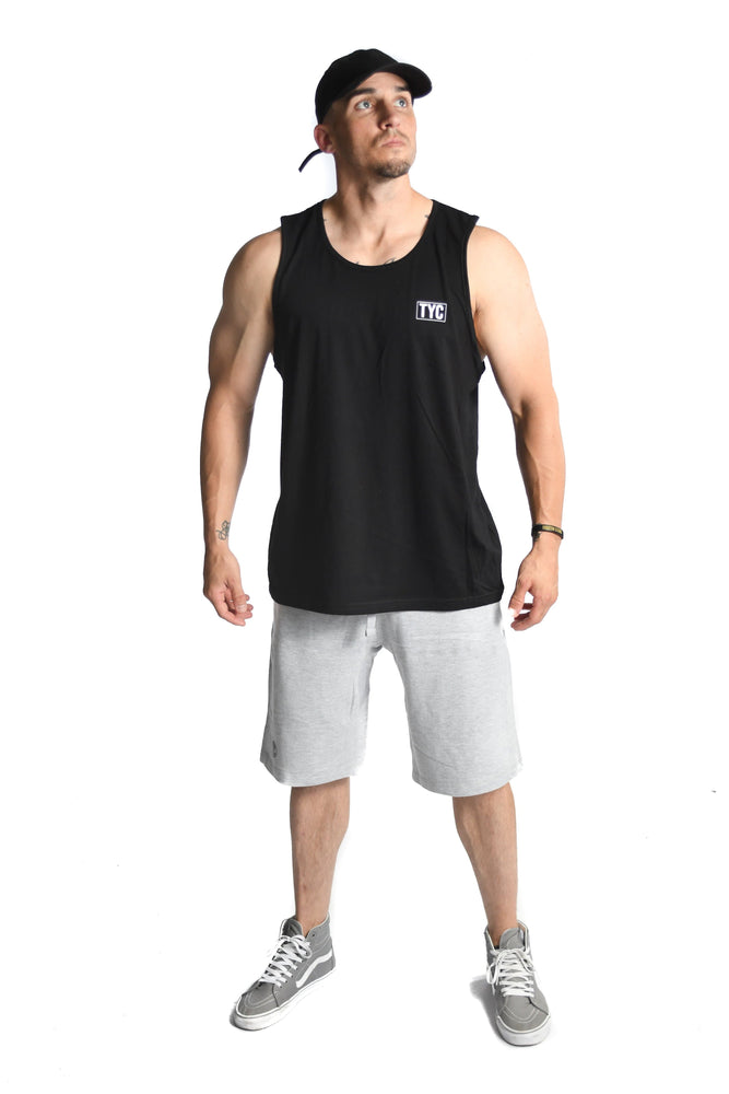 Load image into Gallery viewer, Men's TYC Logo Tank- Black
