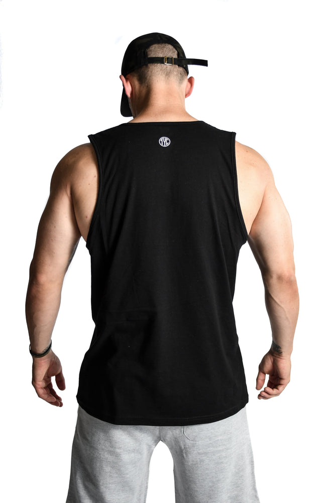 Men's TYC Logo Tank- Black