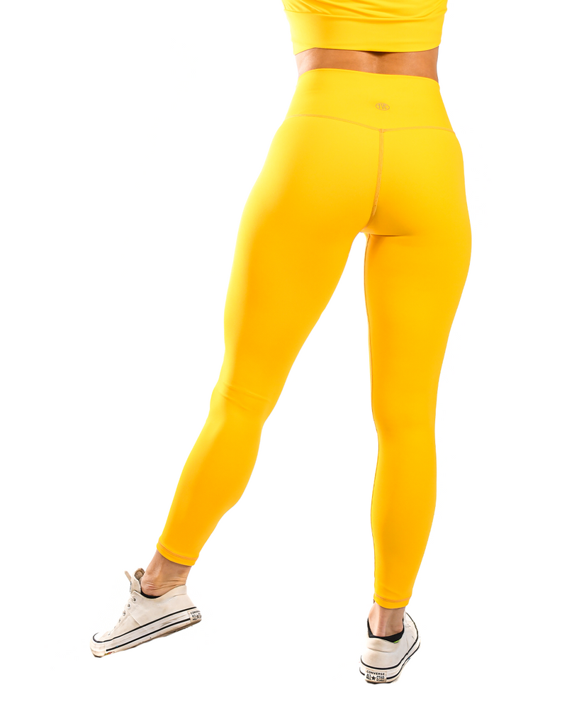 Effortless Classic Leggings- Mustard
