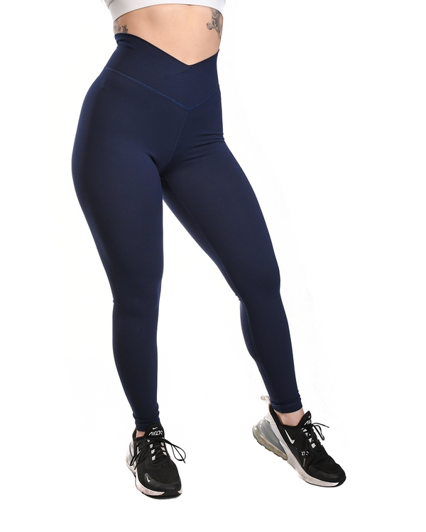 Effortless Vortex Classic Leggings- Navy