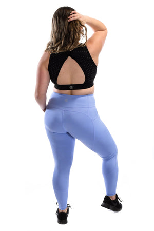 Intensity Heart Booty Leggings- Blossom