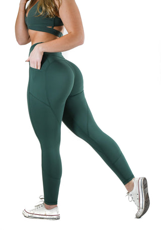 Effortless Scrunch Leggings - Steel