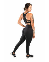 "31"" Effortless Scrunch Leggings- Black"
