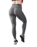 Effortless Scrunch Leggings- Alloy Steel