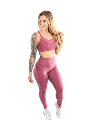 Load image into Gallery viewer, Resilient Essence Leggings- Rose Gold