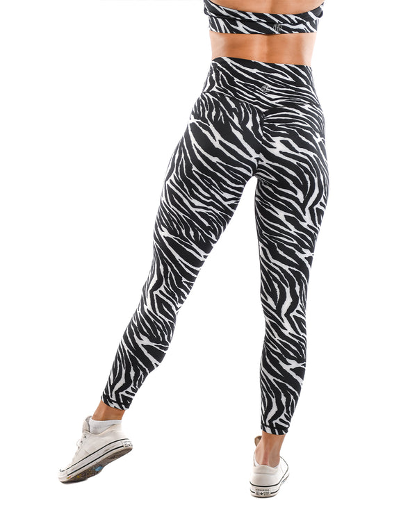 Effortless Scrunch Leggings- Zebra