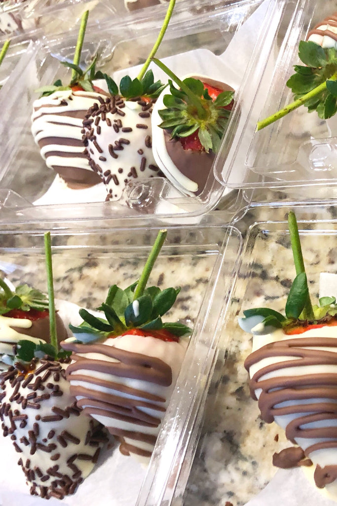 24- Fire and Floral Chocolate Covered Strawberries - VineLily Moments