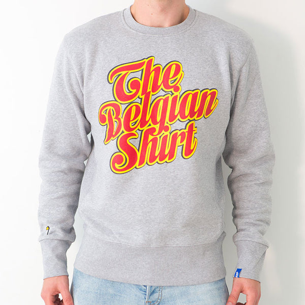 Sweatshirt Crew neck The Belgian Shirt