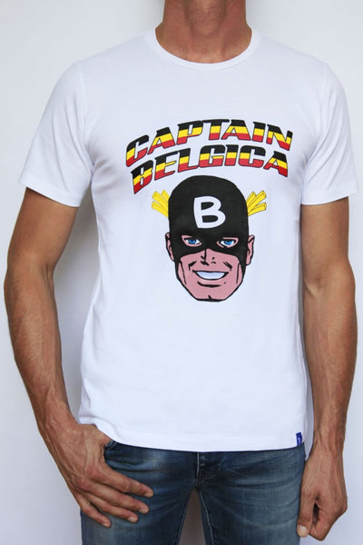 T-shirt Captain Belgica white