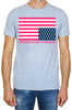 T-shirt Summer Flag grey