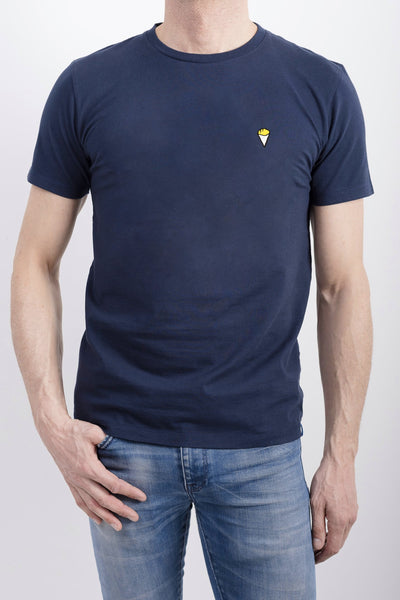 T-shirt Frites navy blue