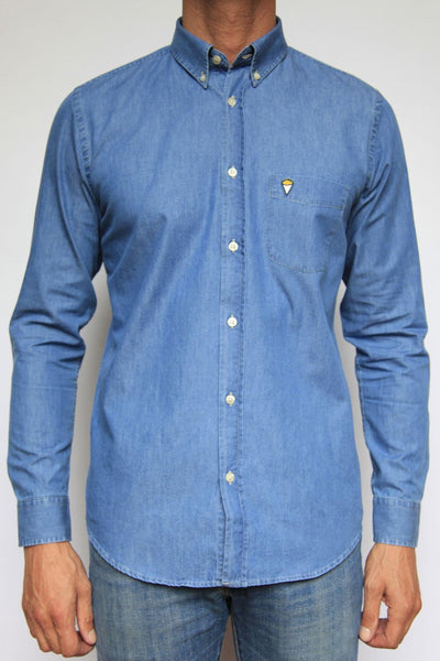 Shirt Frites light blue