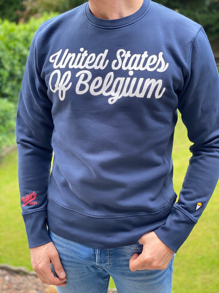 Sweatshirt crew neck USOB navy