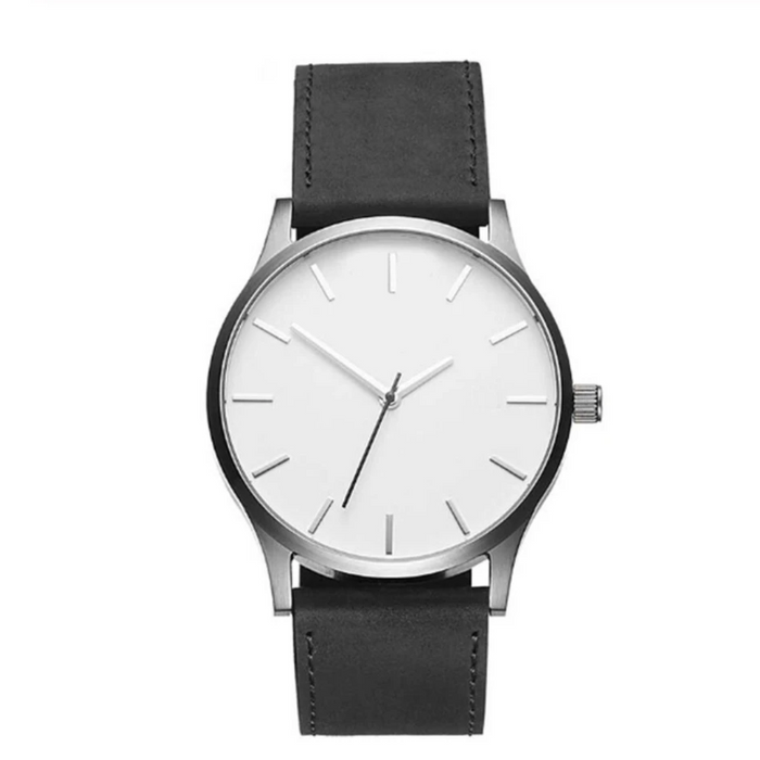 """Force"" Leather Watch"