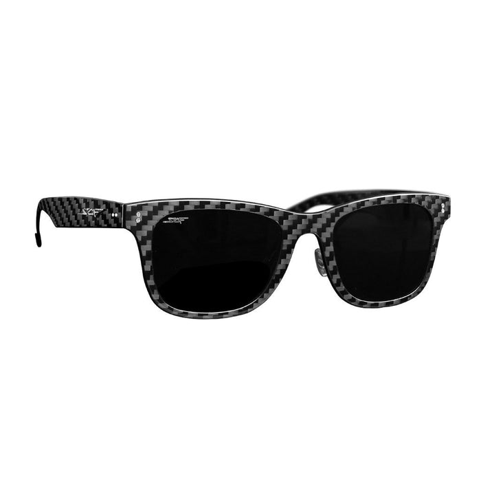 """CLASSIC"" Real Carbon Fiber Sunglasses (Polarized Lens 