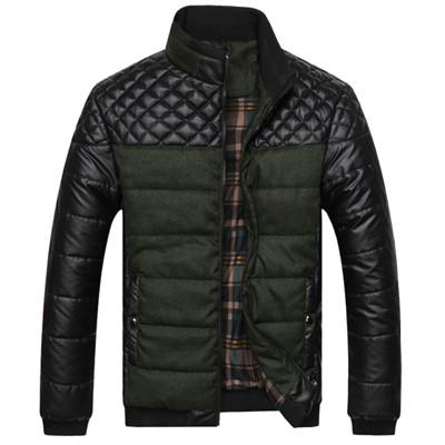 "Jacket - ""Turnback"" Warm Quilted Zip Up Jacket (3 Styles Available)"