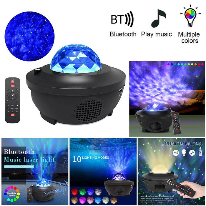 Galaxy Projector with Bluetooth Speaker