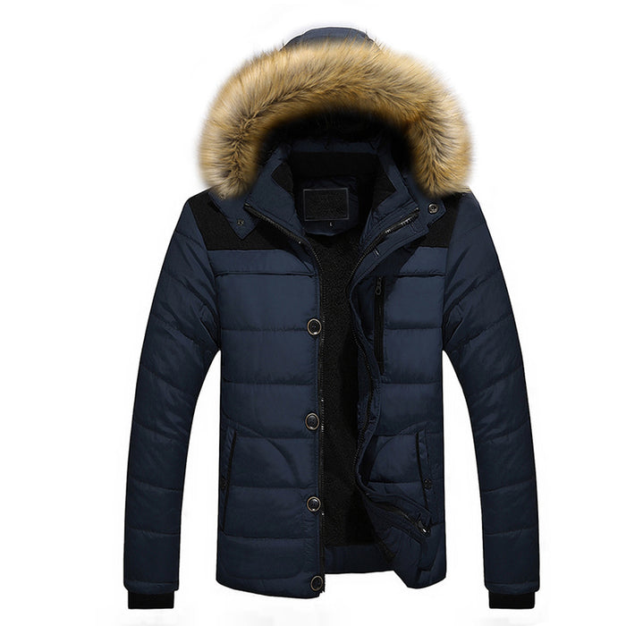 """Tider"" Fur Hooded Jacket"