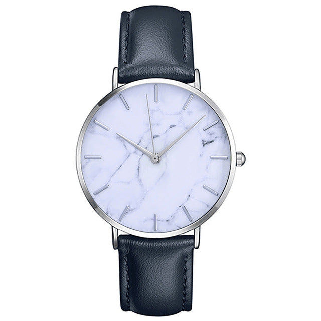 """Loreza"" Leather Quartz Watch"