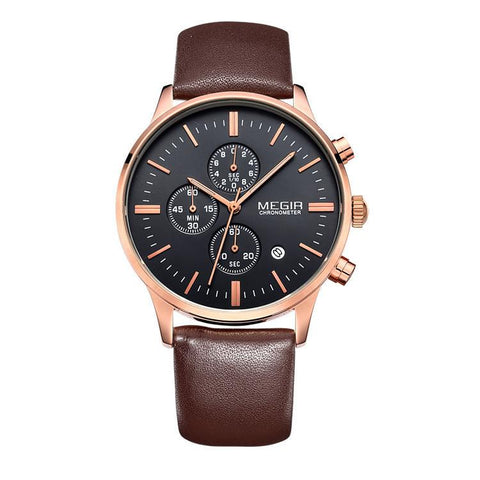 "Watch - ""East Coast""  Formal Leather Watch (8 Styles Available)"