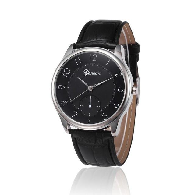 "Watch - ""London"" Leather Quartz Watch"