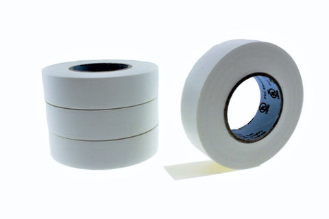 "4pk 3/4"" .75 White Electrical Tape Wiring Labeling PVC Vinyl Contractor"