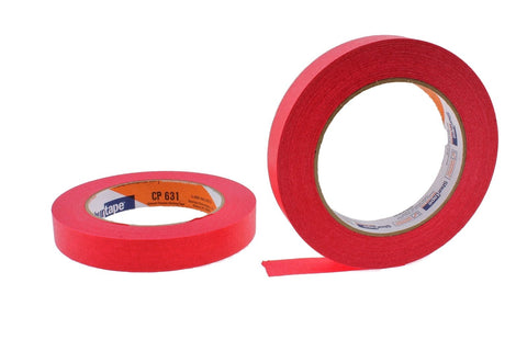 2x 3/4 Red Painters Masking Tape Painting Crafts Scrapbooking School Office