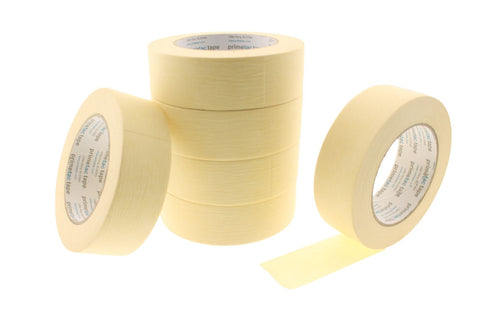 "*SALE* 6pk High Temperature Primetac 1.5"" Yellow Painters Masking Trim Edge Tape"