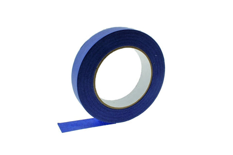 "5x 1"" Blue Painters Masking Tape Walls Trim Floor Auto Glass UV Outdoor 21 Day"
