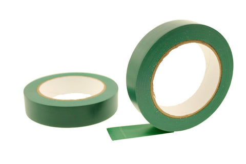 "2x 1"" Dark GREEN Removable Adhesive Striping Vinyl Electrical Marking Floor Tape"