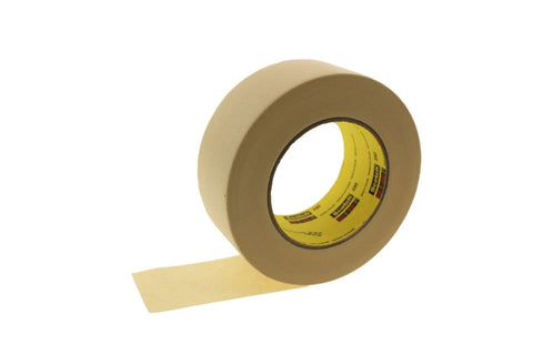 "2pk QUALITY USA MADE 2"" High Performance Cream Masking Trim Edge Tape EZ REMOVAL"
