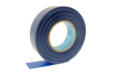 "4pk 3/4"" .75 BLUE Heavy Electrical Tape Wiring Labeling PVC Vinyl Contractor"