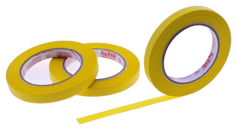3x 1/2 Yellow Painters Masking Tape Painting Crafts Scrapbooking School Office