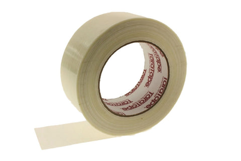 "HEAVY 2"" Glass Filament Reinforced Strapping Tape Packaging Moving Shipping 60yd"