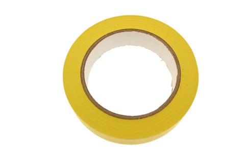 "1"" Yellow Insulated Adhesive PVC Pin Striping Vinyl Electrical Tape 36 yard"