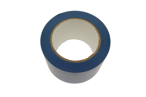 "3"" Royal Blue Rubber Vinyl Tape Electrical Sealing Floor OSHA Safety Marking 36y"