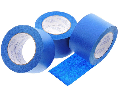3x 3 in inch 60 yd USA Premium Blue Painters Masking Tape No Residue 3D Printing