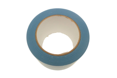 "3"" Light Blue Rubber Vinyl Tape Electrical Sealing Floor OSHA Safety Marking 36y"