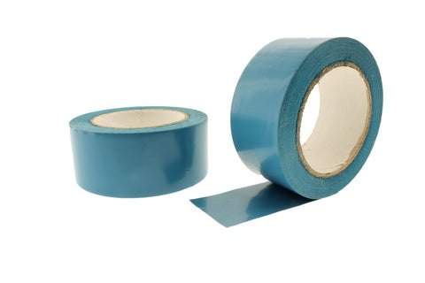 "2pk 2"" AQUA Blue Insulated Adhesive PVC Pin Striping Vinyl Electrical Tape 36yd"