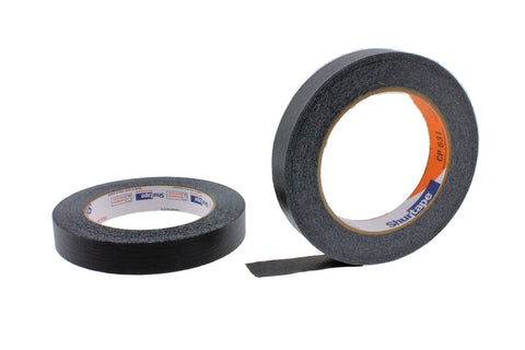 2x 3/4 Black Painters Masking Tape Painting Crafts Scrapbooking School Office