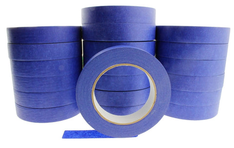 "20x 1"" Blue Painters Masking Tape Walls Trim Floor Auto Glass UV Outdoor 21 Day"