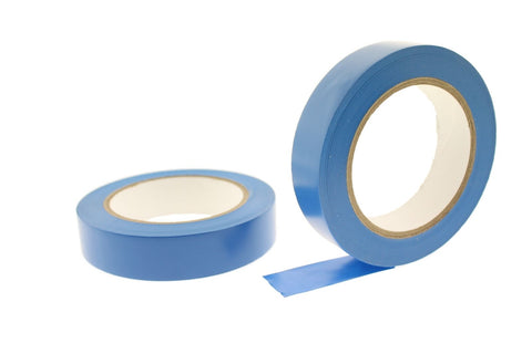 "2x 1"" Medium Blue Insulated Adhesive PVC Pin Striping Vinyl Electrical Tape 36yd"