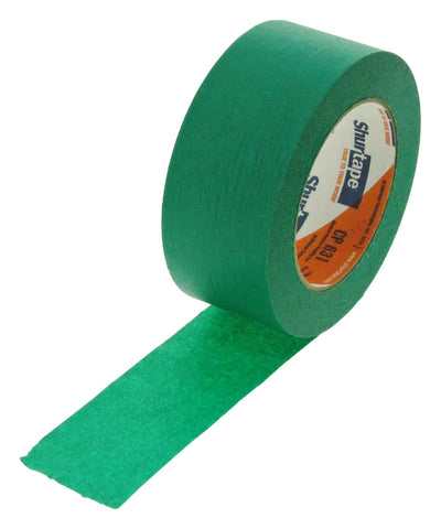 "2"" Dark Green Painters Masking Tape Painting Crafts Scrapbooking School Office"