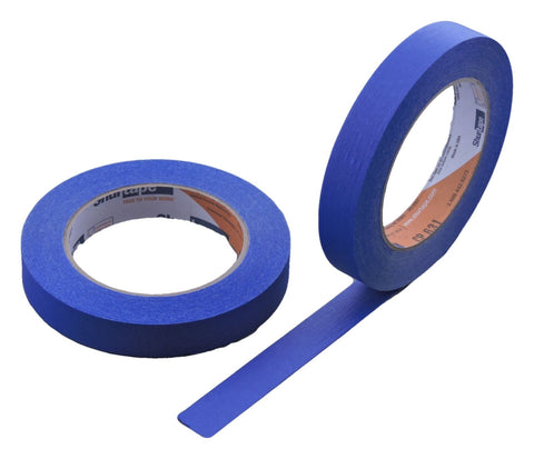 2x 3/4 Blue Painters Masking Tape Painting Crafts Scrapbooking School Office