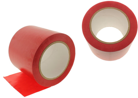 "2x 4"" Red Insulated Adhesive PVC Pin Striping Vinyl Electrical Tape 36 yard"