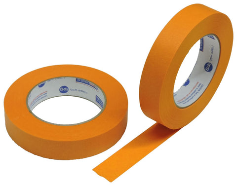 "2x IPG 1"" Orange Clean Release Fine Line Razor Precision Painters Masking Tape"