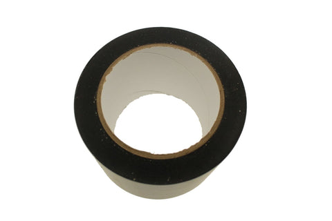 "3"" Black PVC Rubber Vinyl Tape Electrical Sealing Floor OSHA Safety Marking 36y"